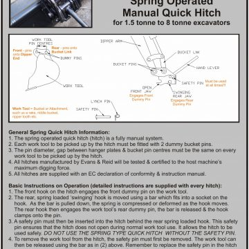 Quick Hitch Spring