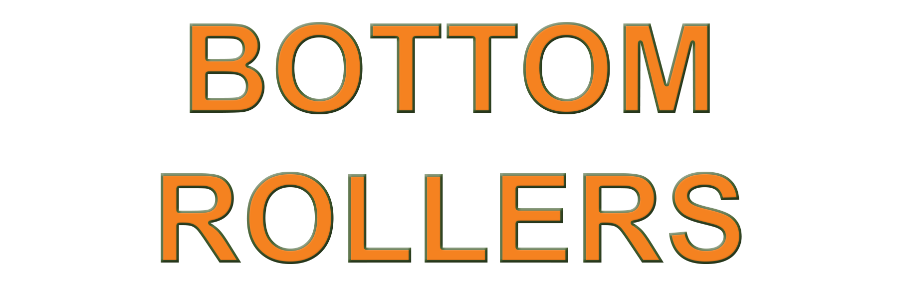 Bottom Track Rollers