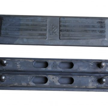 Yanmar YB401-2 Bolt on Rubber Pads