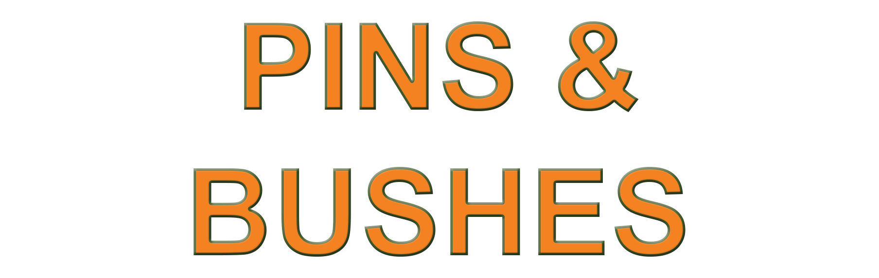 Pins & Bushes